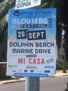 Blouberg Festival 2015 poster